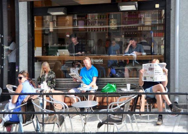 Kawiarnia w Oslo
