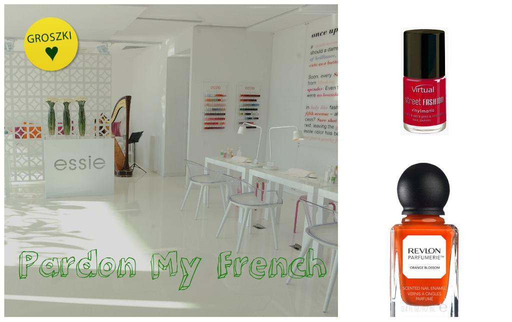 Jesienny manicure według Pardon My French