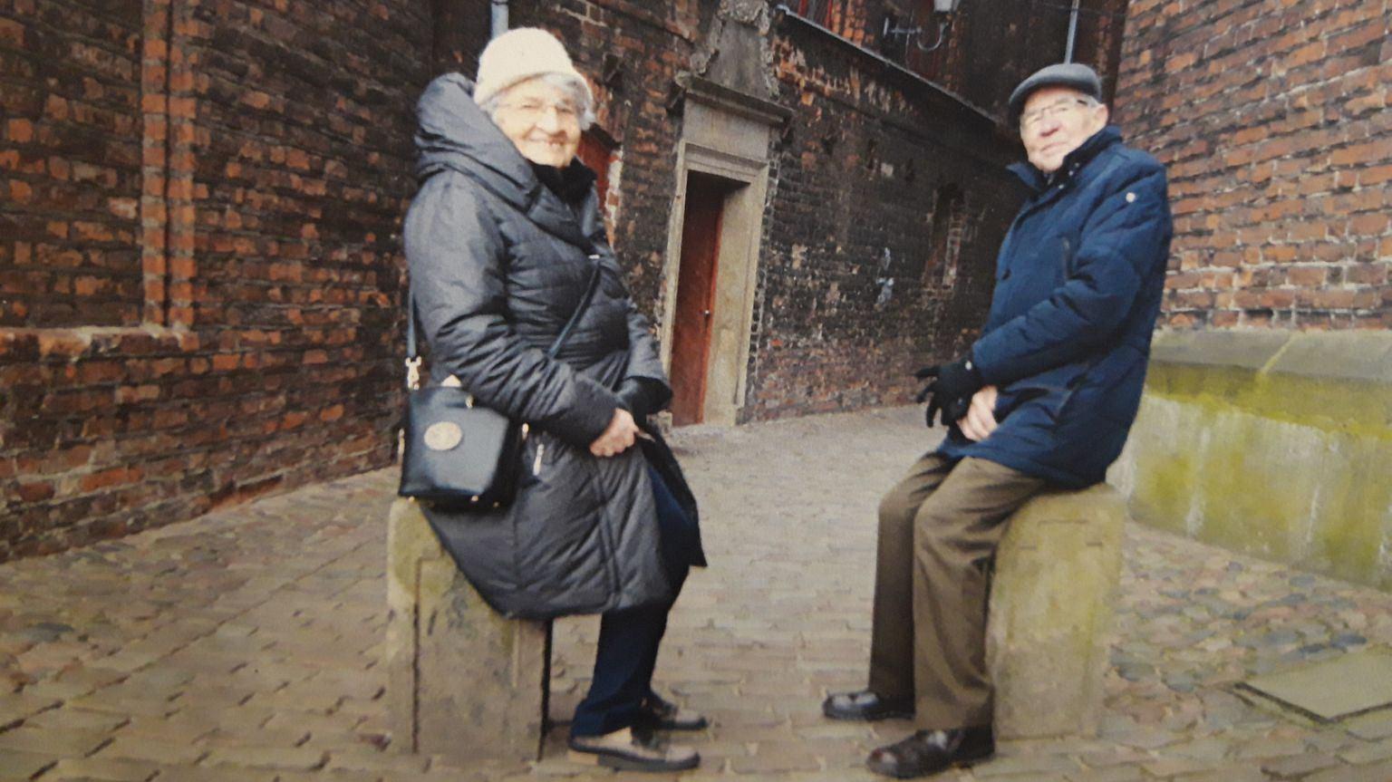 Agnieszka Sitko z mężem