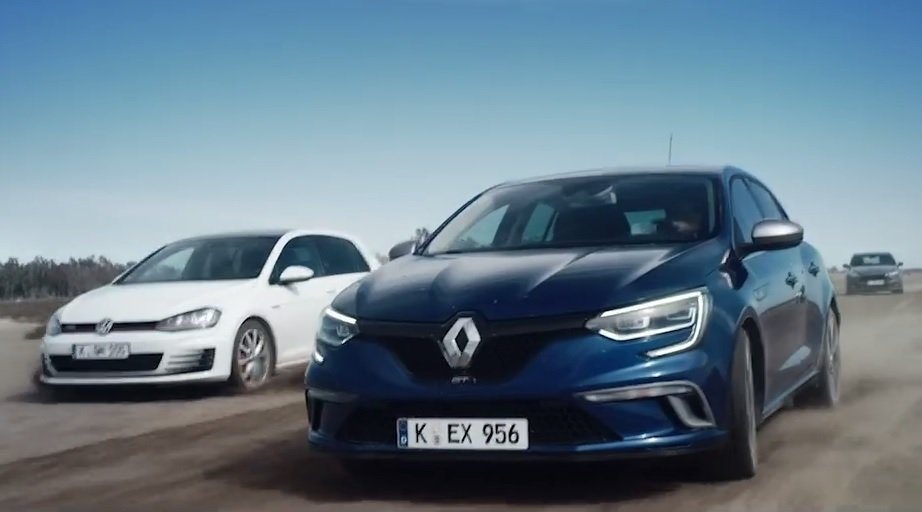 Reklama Renault Megane GT