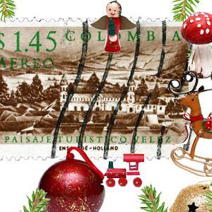 Znaczek pocztowy Kolumbia