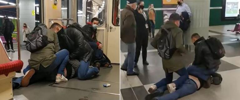 Warszawa. Jechał metrem bez maseczki i awanturował się. Teraz usłyszał zarzuty