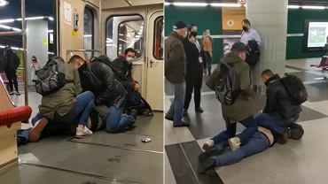 Zatrzymanie agresywnego pasażera