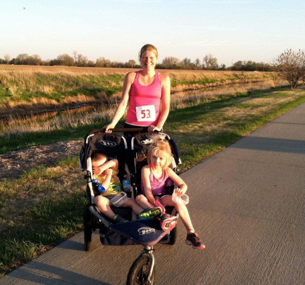 Mama + dziecko + bieganie = radość!