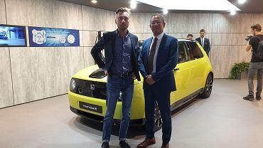 Łukasz Kifer z Moto.pl i Kotaro Yamamoto
