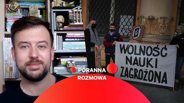 Przemysław Staroń w Porannej Rozmowie Gazeta.pl