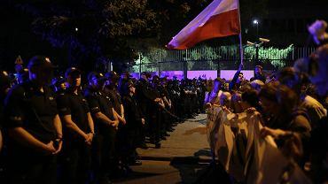 'Wolne sady! Chcemy Weta!' - demonstracja pod Sejmem, Warszawa, 18 sierpnia 2017