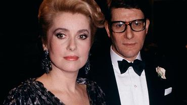 Catherine Deneuve i Yves Saint Laurent