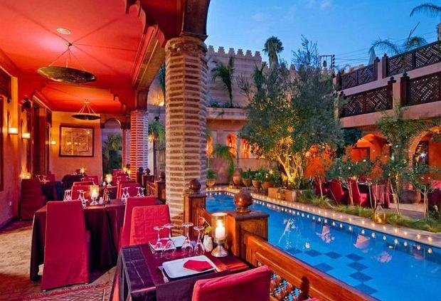 Restauracja La Maison w Arabe w Marrakeszu