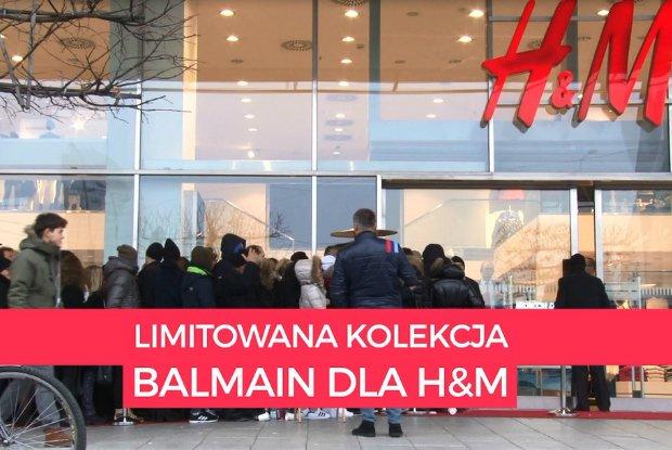Szał zakupów Balmain dla H&M