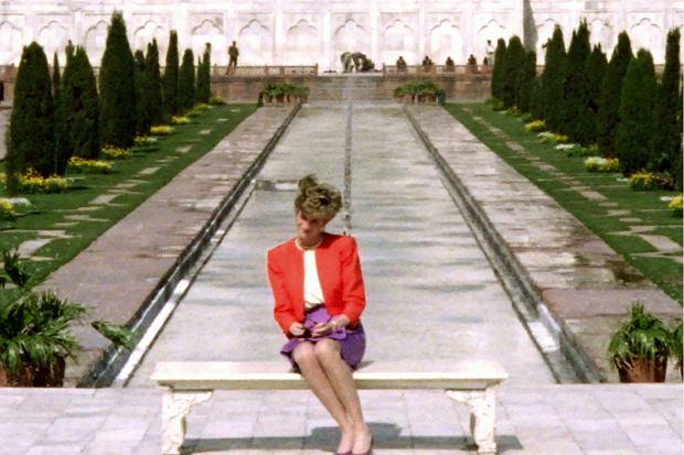 Diana przy Tadż Mahal