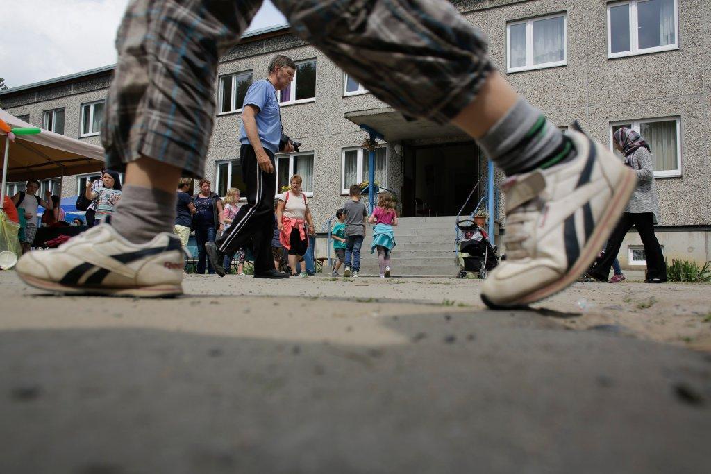 Szkoła dla dzieci uchodźców w Berlinie
