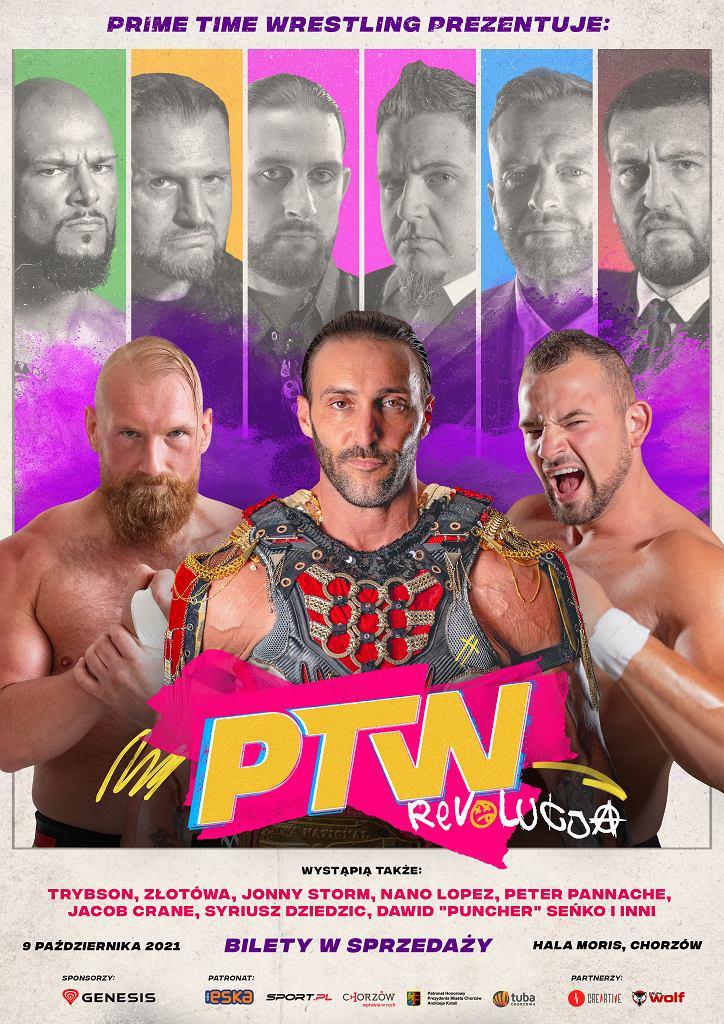 Prime Time Wrestling zaplanowała swoją pierwszą galę, PTW #1 REVOLUCJA!