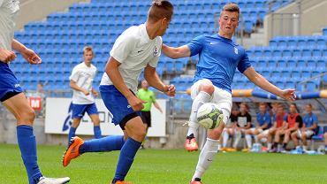 Lech Poznań - UKS SMS Łódź 3:0 w półfinale mistrzostw Polski juniorów młodszych. Hubert Sobol