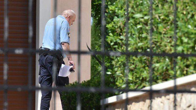 Policja w willi, którą wynajmował Ivan Rakitić