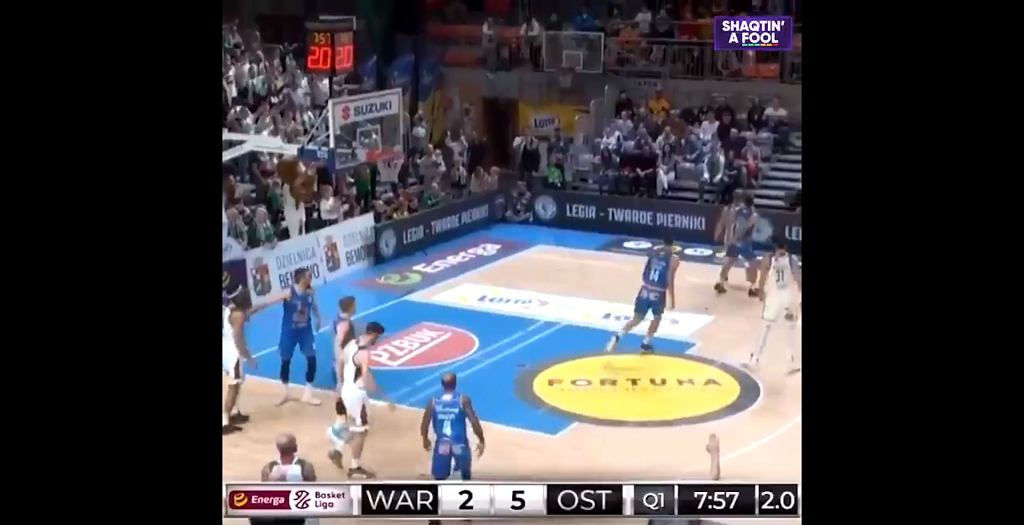 Legia Warszawa w 'Shaqtin a' Fool'