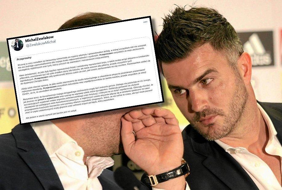 Michał Żewłakow wydał oświadczenie