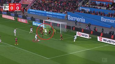 Pierwszy gol Lewandowskiego w meczu z Bayerem