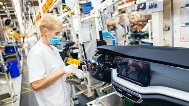 Czechy, Mlada Boleslav, fabryka Skoda Auto, zdjęcie z 14 września 2020 r.