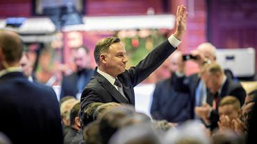18 kwietnia 2020 r. Sędzia Andrzej Duda mówił o sędziach podczas spotkania w Katowicach