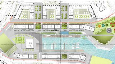 W ten sposób mają zostać zagospodarowane tereny wokół portowego basenu