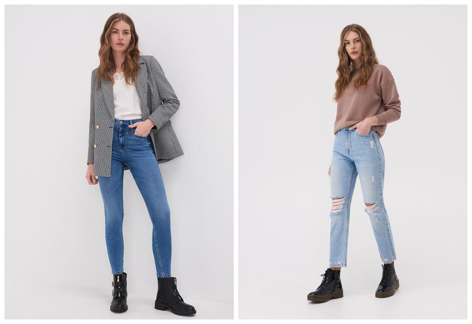 jeansy sinsay
