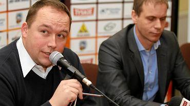 Sławomir Kryjom i Mateusz Kurzawski
