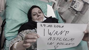 Fatima, Irakijka, która ubiega się w Polsce o azyl