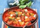 Kolorowe sałatki z pysznym serem