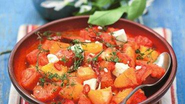 Sałatka pomarańczowa z chilli