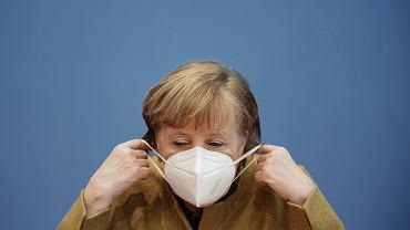 Koronawirus w Niemczech. Angela Merkel