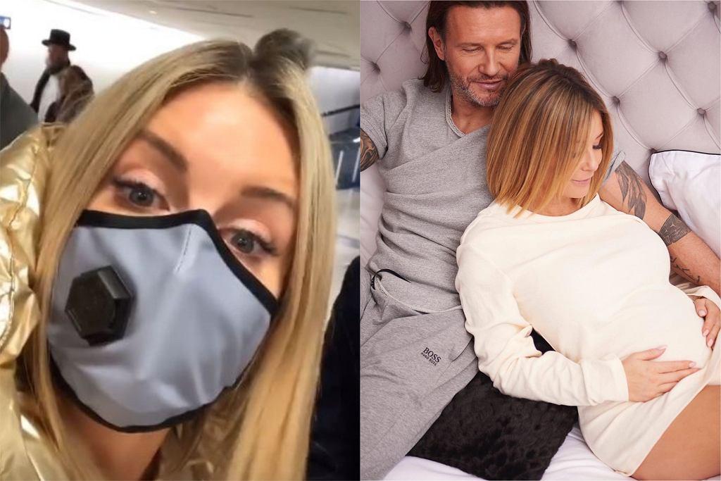 Małgorzata Rozenek chroni się przed koronawirusem