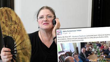 Poseł Krystyna Pawłowicz