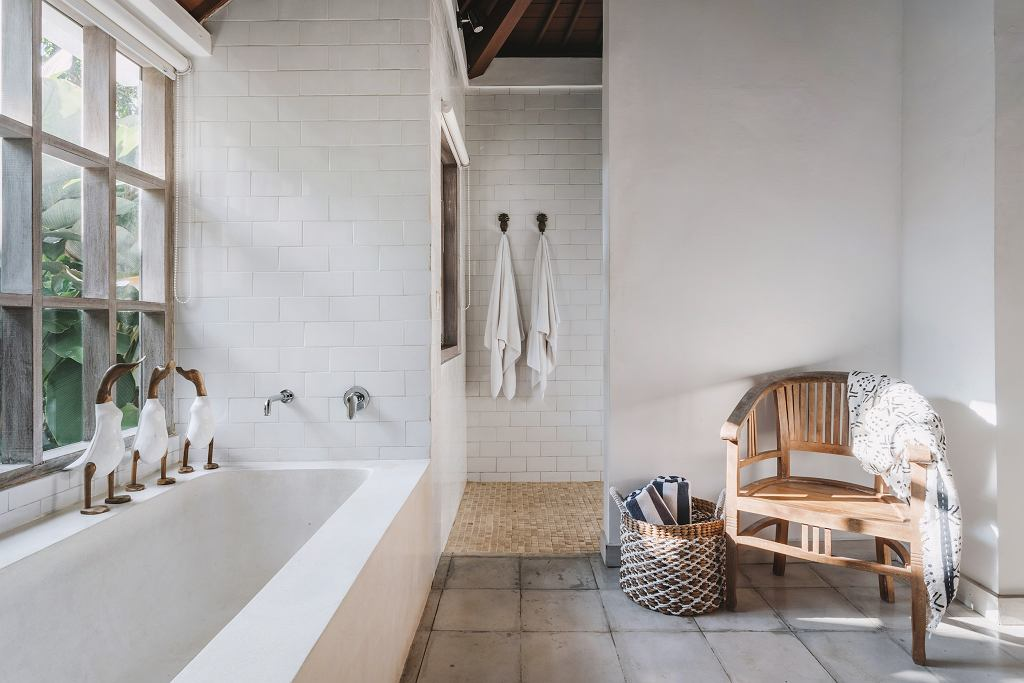 Naturalna łazienka.