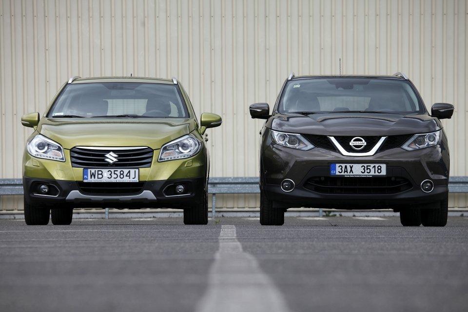 Suzuki SX4 S-Cross vs. Nissan Qashqai