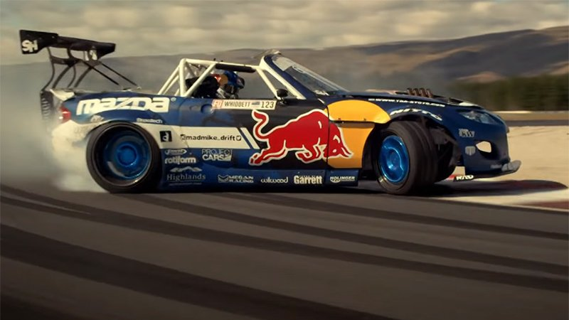 Mazda MX-5 RABDUL Red Bull