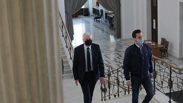 Spór w Porozumieniu. Media: Adam Bielan i Kamil Bortniczuk wyrzuceni z partii (zdjęcie ilustracyjne)