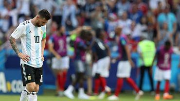 MŚ 2018. Leo Messi po porażce Argentyny z Francją