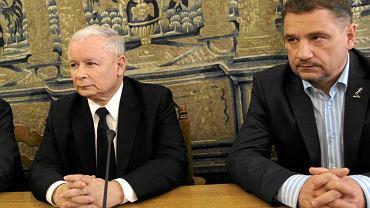 Jarosław Kaczyński i Piotr Duda