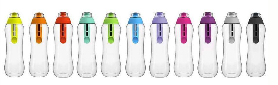Nowe kolory butelek filtrujących DAFI