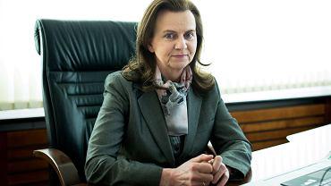 Dyrektor ZUS Gertruda Uścińska