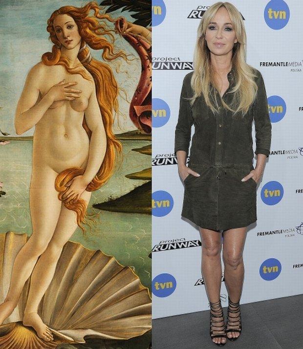 Botticelli, Narodziny Wenus, Joanna Przetakiewicz