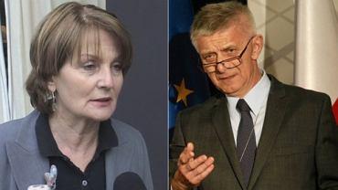Elżbieta Chojna-Duch i Marek Belka