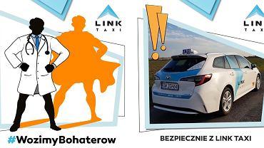 Koronawirus we Wrocławiu. Link Taxi za darmo wozi pracowników służby zdrowia