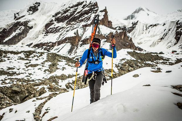 Andrzej Bargiel w drodze na szczyt