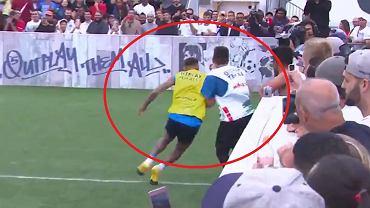 Neymar podczas turnieju Neymar Jr's Five