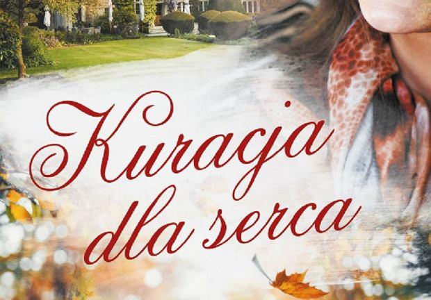 okładka książki 'Kuracja dla serca' Agnieszki Szackiej