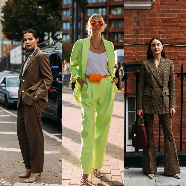 Garnitur damski modny