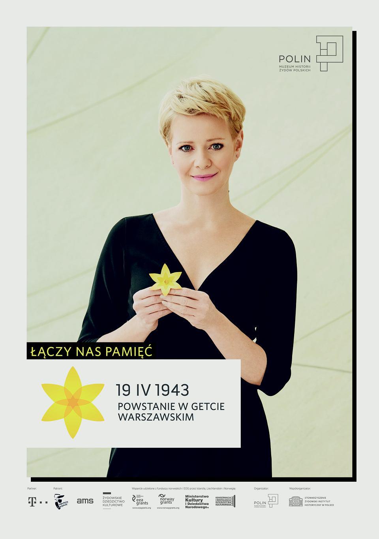 Zdjęcie numer 13 w galerii - Rocznica powstania w getcie warszawskim. Żonkil oznacza pamięć