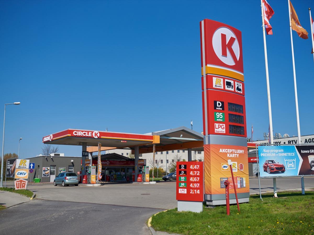Stacje Circle K Zamiast Statoil Wielka Zmiana Na Stacjach Benzynowych
